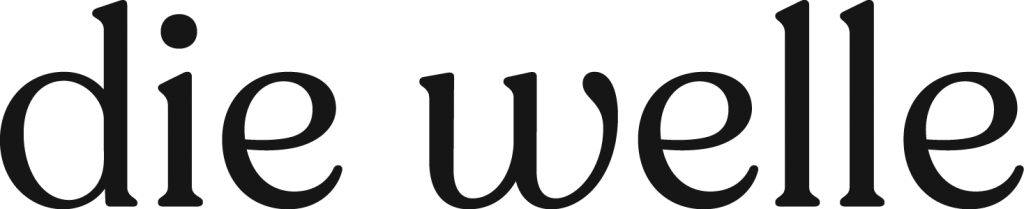 Die Welle black logotype.